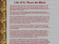 Life of St. Moses the Black